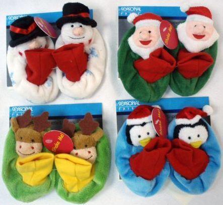 数量为57000件,项目编号为999526,婴儿鞋的外形为雪人,圣诞老人,驯鹿