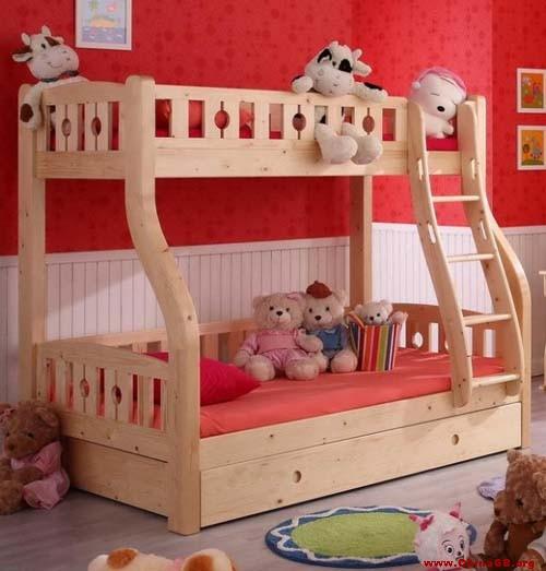 推荐产品二:实木简约双层床