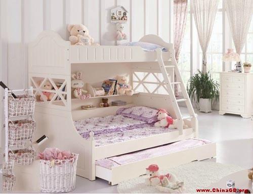 小卧室双层床装修图