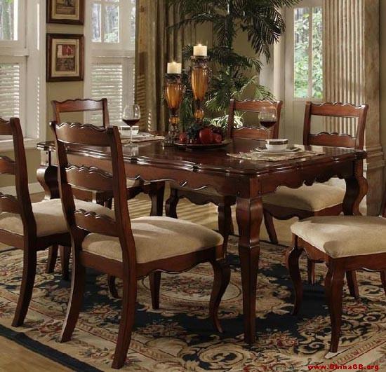 浪漫奢华风 15款欧式餐桌椅力荐